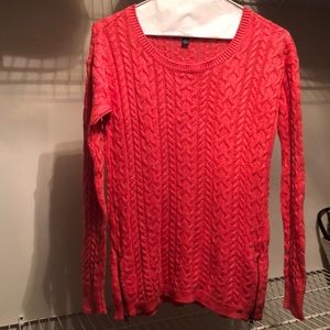 American Eagle hot pink sweater!!!